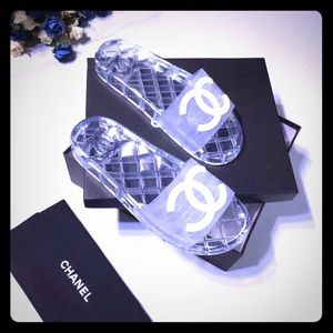 Chanel Jelly Pool Sandals